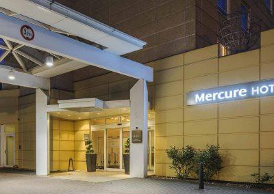 Mercure Hannover Oldenburger Allee Aussenansicht Eingang