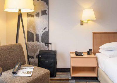 Mercure Hannover Oldenburger Allee Standard Zimmer Bett